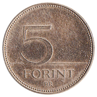 5 Hungarian Forints coin