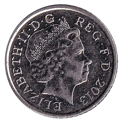 5 Pence coin Great Britain