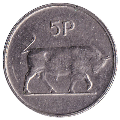 5 Pence coin Ireland