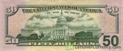50 American Dollars banknote