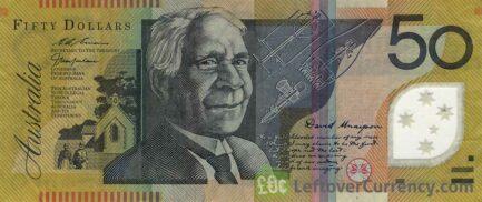 50 Australian Dollars banknote (David Unaipon)