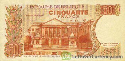50 Belgian Francs Treasury banknote (Royal couple)