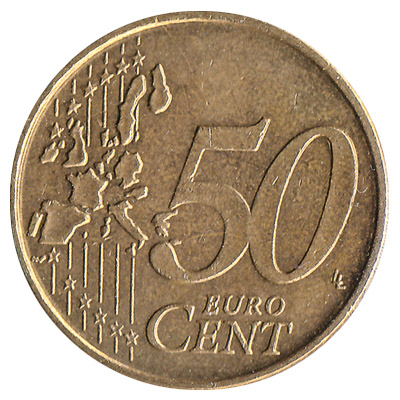 50 cents euro coin exchange yours for cash today. Black Bedroom Furniture Sets. Home Design Ideas