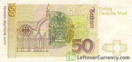 50 Deutsche Marks banknote (Balthasar Neumann)