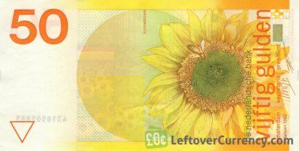 50 Dutch Guilders banknote (Sunflower 1982)