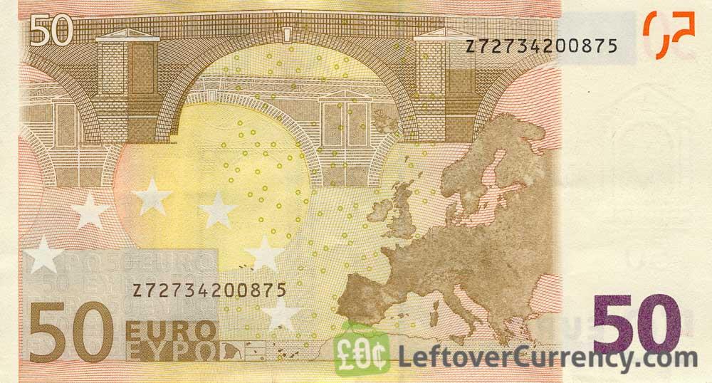 5€ Euro Banknotes 10 50 4 Bills Cir Notes Dt 85€ Euro euros Total 20