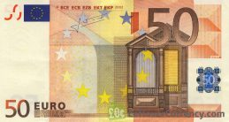 50 Euros banknote (First series)