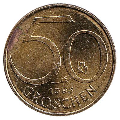 50 Groschen coin Austria