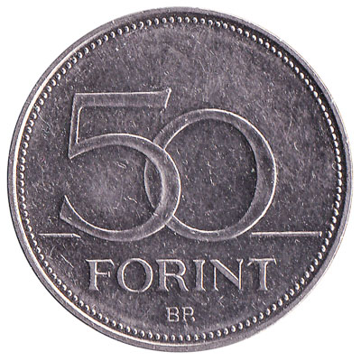 50 Hungarian Forints coin