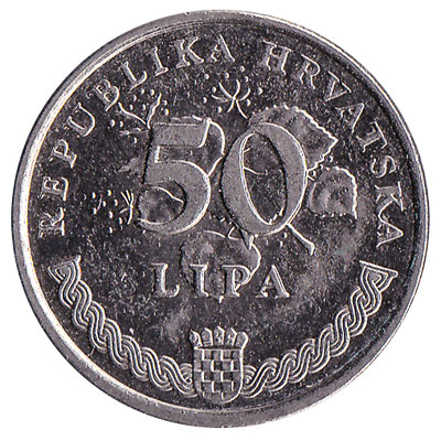 50 Lipa coin Croatia