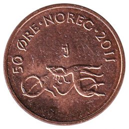 50 Ore coin Norway