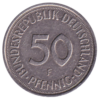 50 Pfennig coin Germany