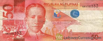 50 Philippine Peso banknote (2010 series)