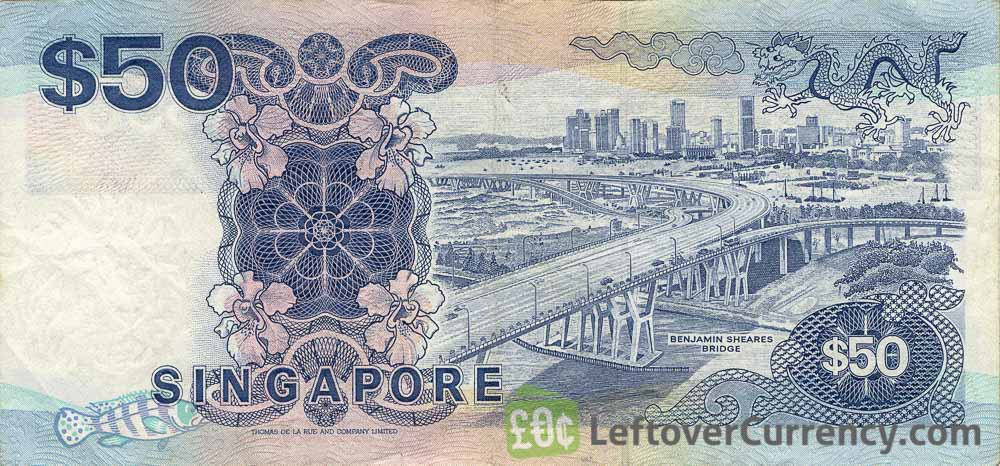 50 Singapore Dollars banknote (Ships series)