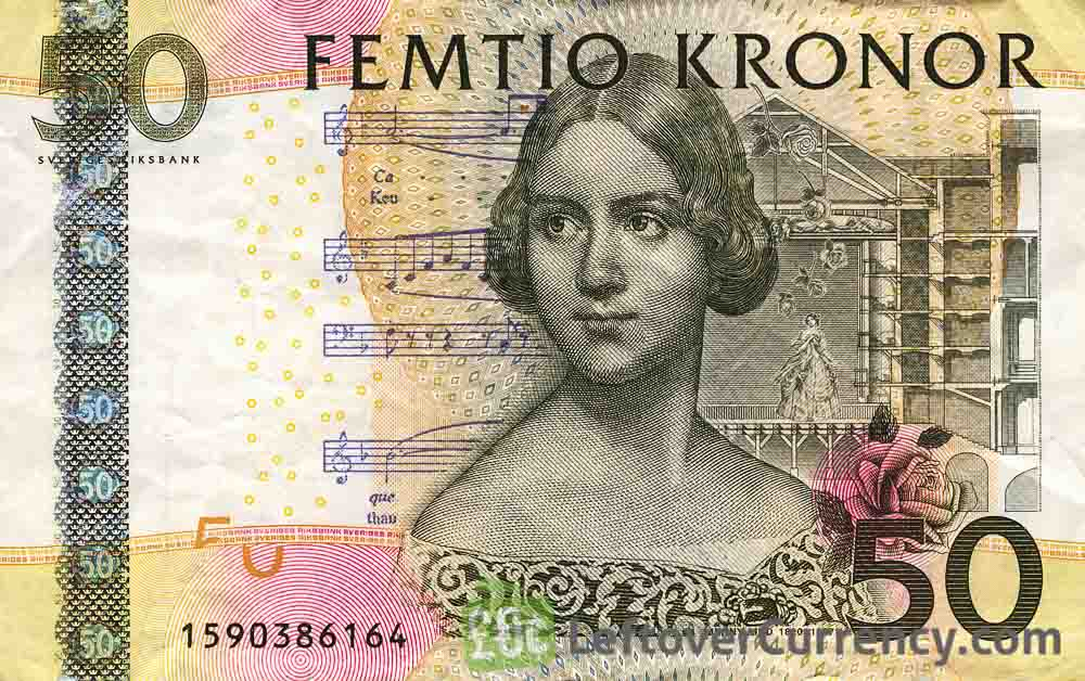50 Swedish Kronor banknote (Jenny Lind)