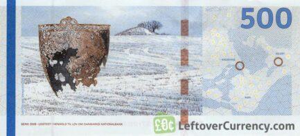 500 Danish Kroner banknote (Bridges of Denmark series)