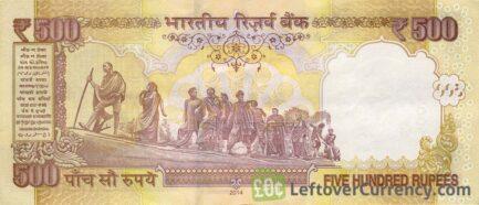 500 Indian Rupees banknote (Gandhi)