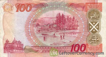 Bank of Scotland 100 Pounds banknote (1995-2006 series)