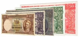 Obsolete New Zealand Pound banknotes accepted for exchange
