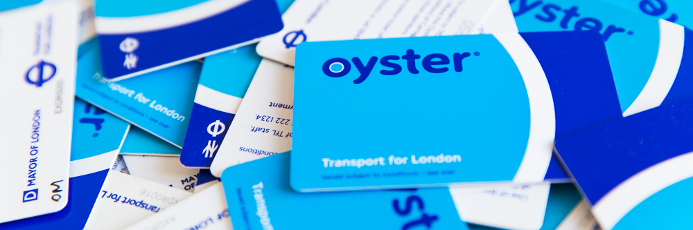 Oyster cards submitted for refund