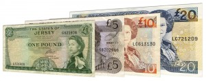 Withdrawn Jersey Pound banknotes accepted for exchange