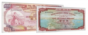 Withdrawn Mercantile Bank Hong Kong dollar banknotes accepted for exchange