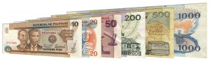 Withdrawn Philippine peso banknotes accepted for exchange