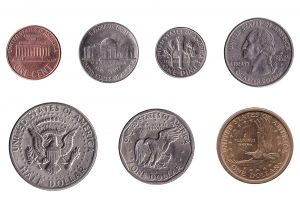 American dollar coins accepted for exchange