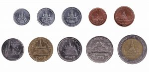 Thai baht coins accepted for exchange