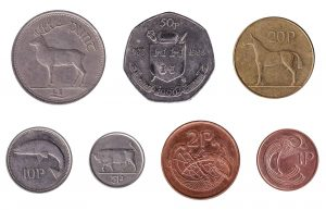 Obsolete Irish Pound coins accepted for exchange