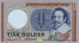 10 Dutch Guilders banknote (Hugo de Groot)