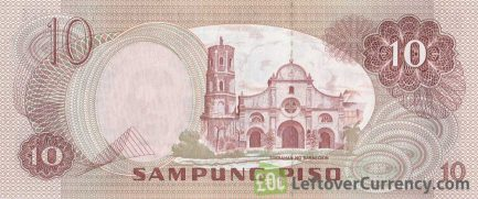 10 Philippine Peso banknote (1978 issue)