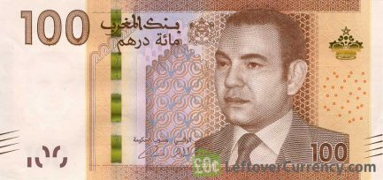 100 Moroccan Dirhams banknote (2012 issue)