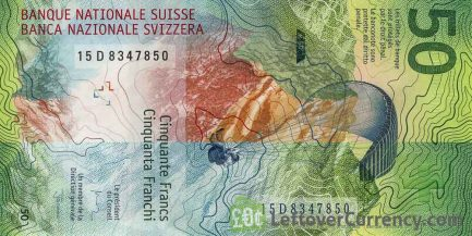 50 Swiss Francs banknote (9th Series)