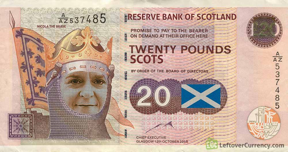 Local Odd Job Guy Refused To Accept Scottish Notes Page