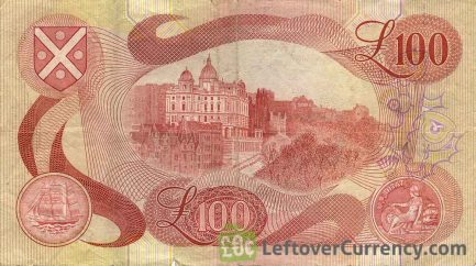 Bank of Scotland 100 Pounds banknote (1970-1994 series)