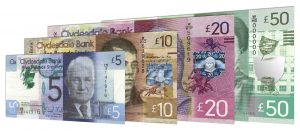 current Clydesdale Bank banknotes accepted for exchange