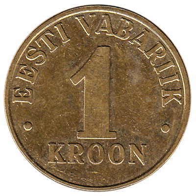 1 Kroon coin Estonia