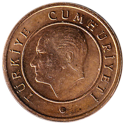 1 Kurus coin Turkey