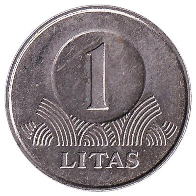 1 Litas coin Lithuania