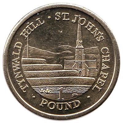 1 Manx Pound coin