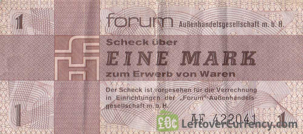 1 Mark ForumScheck DDR (1979)