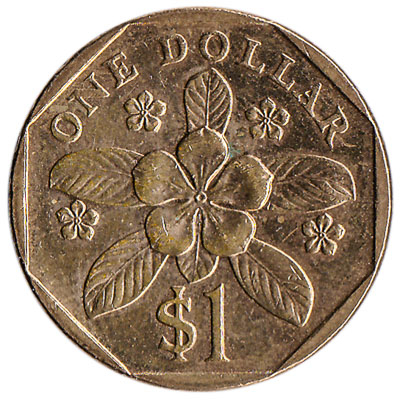 1 Singapore Dollar coin (Second series)