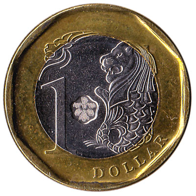 1 Singapore Dollar coin (Third series)