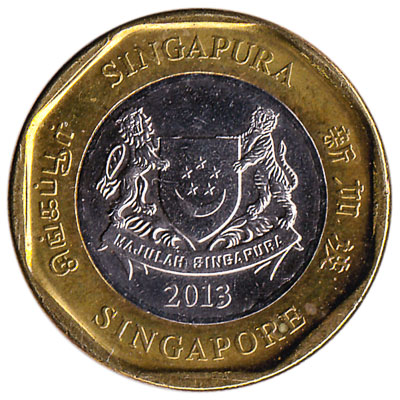 1 Singapore Dollar coin (Third series)