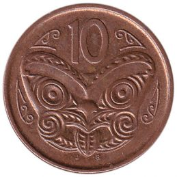10 cent coin New Zealand