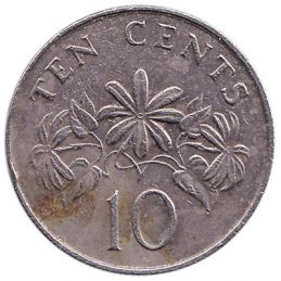 10 Cents coin Singapore (Second series)