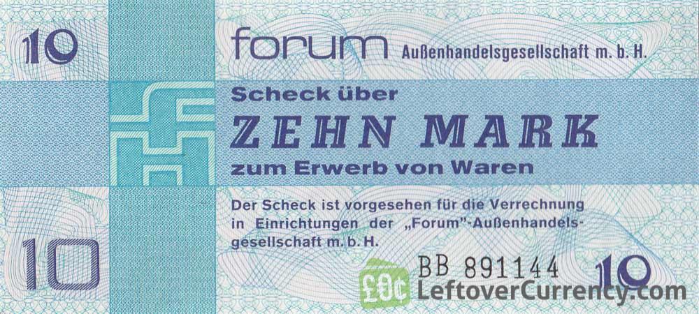 10 Mark ForumScheck DDR (1979)
