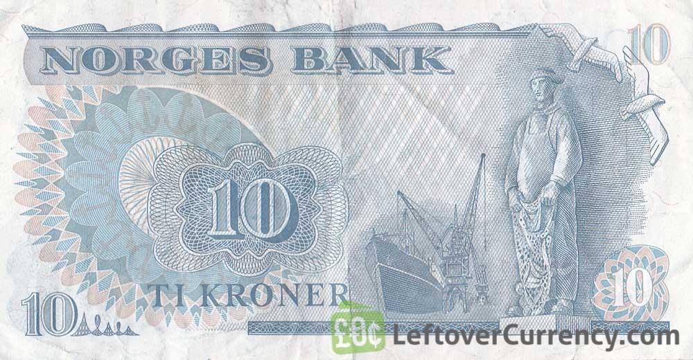 10 Norwegian Kroner banknote (Fridtjof Nansen)