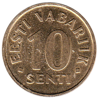 10 Senti coin Estonia